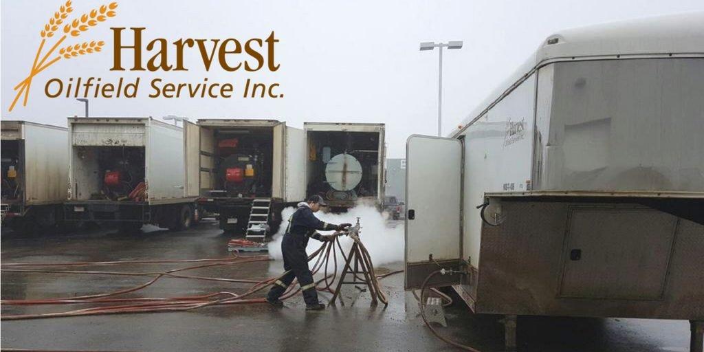 Harvest Blowing off Steam
